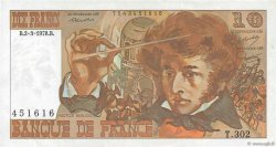 10 Francs BERLIOZ FRANCE  1978 F.63.23 TTB+