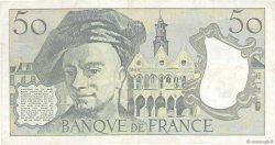 50 Francs QUENTIN DE LA TOUR FRANCE  1990 F.67.16 TTB