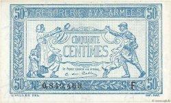 50 Centimes TRÉSORERIE AUX ARMÉES FRANCE  1917 VF.01.05 SPL