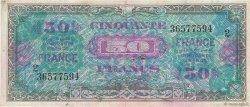 50 Francs FRANCE FRANCE  1945 VF.24.02 TB