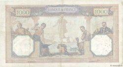 1000 Francs CÉRÈS ET MERCURE FRANCE  1927 F.37.01 TB+