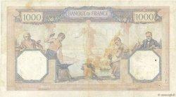 1000 Francs CÉRÈS ET MERCURE FRANCE  1928 F.37.02 TB