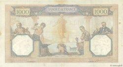 1000 Francs CÉRÈS ET MERCURE FRANCE  1930 F.37.05 TB+