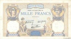 1000 Francs CÉRÈS ET MERCURE type modifié FRANCE  1940 F.38.50 TB+