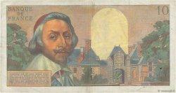 10 Nouveaux Francs RICHELIEU FRANCE  1960 F.57.08 pr.TTB