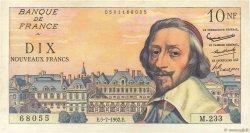 10 Nouveaux Francs RICHELIEU FRANCE  1962 F.57.20 TTB+