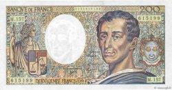 200 Francs MONTESQUIEU Modifié FRANCE  1994 F.70/2.01 pr.SUP