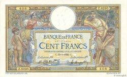 100 Francs LUC OLIVIER MERSON sans LOM FRANCE  1922 F.23.15 SUP