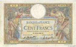 100 Francs LUC OLIVIER MERSON sans LOM FRANCE  1922 F.23.15 TB+