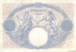 50 Francs BLEU ET ROSE FRANCE  1926 F.14.39 TB