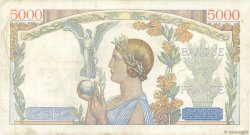 5000 Francs VICTOIRE Impression à plat FRANCE  1939 F.46.05 TB