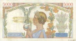 5000 Francs VICTOIRE Impression à plat FRANCE  1939 F.46.15 TTB