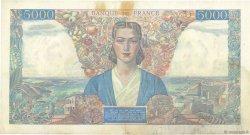 5000 Francs EMPIRE FRANÇAIS FRANCE  1942 F.47.02 TTB