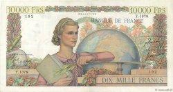 10000 Francs GÉNIE FRANÇAIS FRANCE  1951 F.50.49 pr.TTB