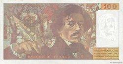 100 Francs DELACROIX 442-1 & 442-2 FRANCE  1994 F.69ter.01a TTB