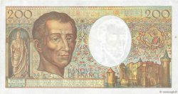 200 Francs MONTESQUIEU Modifié FRANCE  1994 F.70/2.01 TTB