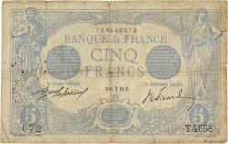 5 Francs BLEU FRANCE  1915 F.02.25 B