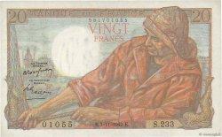 20 Francs PÊCHEUR FRANCE  1949 F.13.16 TTB