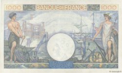 1000 Francs COMMERCE ET INDUSTRIE FRANCE  1944 F.39.11 SPL