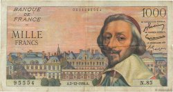 1000 Francs RICHELIEU FRANCE  1954 F.42.09 TB
