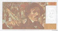 100 Francs DELACROIX imprimé en continu FRANCE  1993 F.69bis.08 pr.SUP