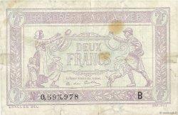 2 Francs TRÉSORERIE AUX ARMÉES FRANCE  1917 VF.05.02 TB