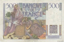 500 Francs CHATEAUBRIAND FRANCE  1946 F.34.05 TB+
