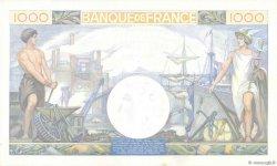 1000 Francs COMMERCE ET INDUSTRIE FRANCE  1940 F.39.01 pr.SPL