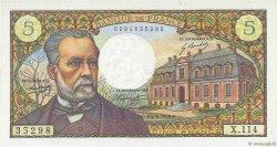 5 Francs PASTEUR FRANCE  1969 F.61.11 SUP+