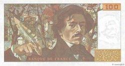 100 Francs DELACROIX FRANCE  1978 F.68.02 SUP