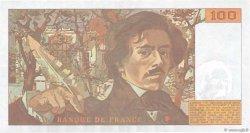100 Francs DELACROIX imprimé en continu FRANCE  1991 F.69bis.04a SUP+