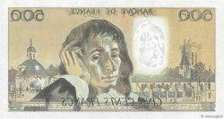 500 Francs PASCAL FRANCE  1993 F.71.51 SUP+