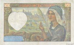 50 Francs JACQUES CŒUR FRANCE  1940 F.19.02 TB