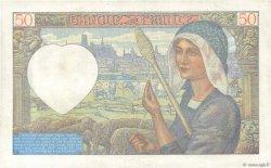 50 Francs JACQUES CŒUR FRANCE  1941 F.19.14 pr.SUP