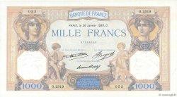1000 Francs CÉRÈS ET MERCURE FRANCE  1933 F.37.08 SUP