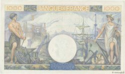 1000 Francs COMMERCE ET INDUSTRIE FRANCE  1944 F.39.09 pr.SUP