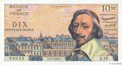 10 Nouveaux Francs RICHELIEU FRANCE  1959 F.57.02 SUP