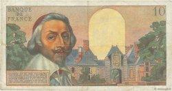 10 Nouveaux Francs RICHELIEU FRANCE  1959 F.57.04 pr.TB