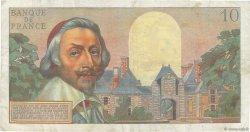 10 Nouveaux Francs RICHELIEU FRANCE  1960 F.57.10 pr.TTB