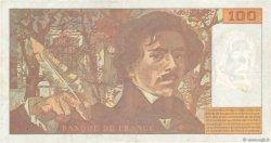 100 Francs DELACROIX 442-1 & 442-2 FRANCE  1995 F.69ter.02a pr.TTB