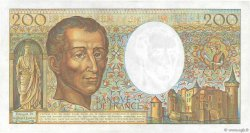 200 Francs MONTESQUIEU FRANCE  1984 F.70.04 TTB+