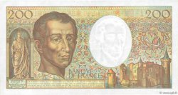 200 Francs MONTESQUIEU Modifié FRANCE  1994 F.70/2.01 TTB