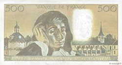 500 Francs PASCAL FRANCE  1992 F.71.49 TTB