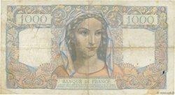 1000 Francs MINERVE ET HERCULE FRANCE  1945 F.41.07 TB