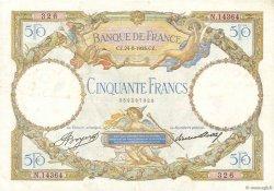 50 Francs LUC OLIVIER MERSON type modifié FRANCE  1933 F.16.04 TB