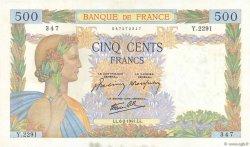 500 Francs LA PAIX FRANCE  1941 F.32.14 pr.SUP