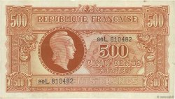 500 Francs MARIANNE FRANCE  1945 VF.11.01 pr.TTB