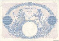 50 Francs BLEU ET ROSE FRANCE  1925 F.14.38 TTB