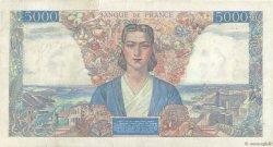 5000 Francs EMPIRE FRANÇAIS FRANCE  1944 F.47.07 B+