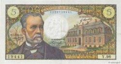 5 Francs PASTEUR FRANCE  1969 F.61.09 TTB